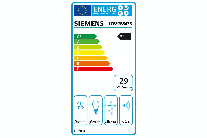 Siemens 60cm Chimney Hood | LC68GE542B