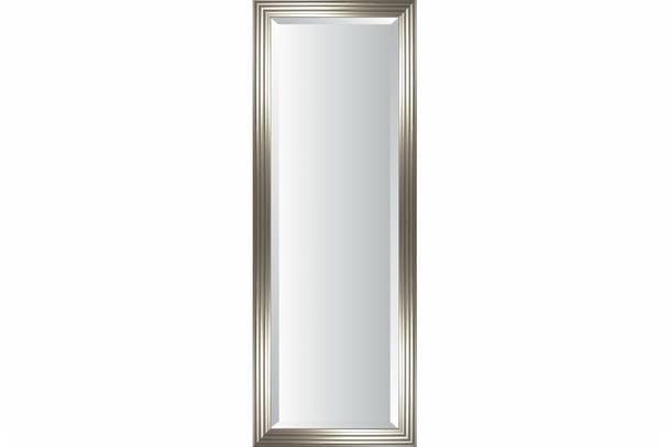 Classic Hall Bevelled Mirror | Silver