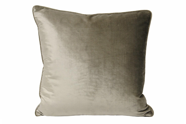 Luxe Velvet Cushion | Mink