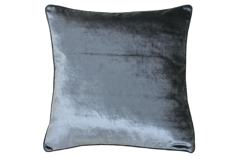Luxe Velvet Cushion | Anthrac