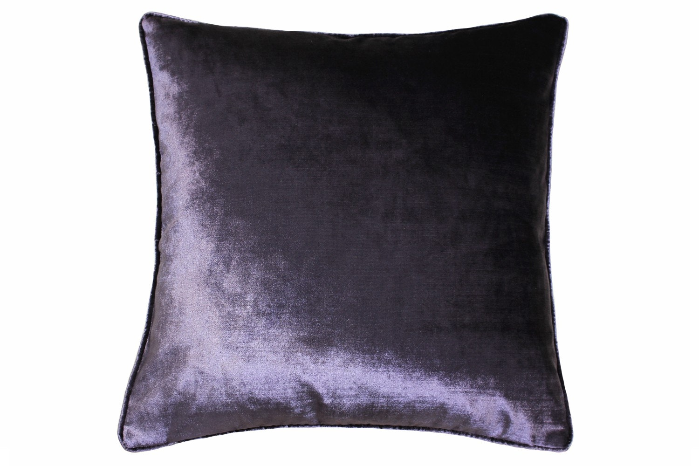 Luxe Velvet Cushion | Grape