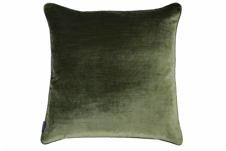 Luxe Velvet Cushion | Olive