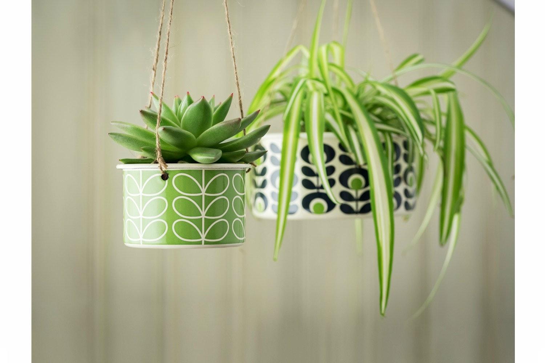 Orla Kiely  -  Hanging Pot | Small