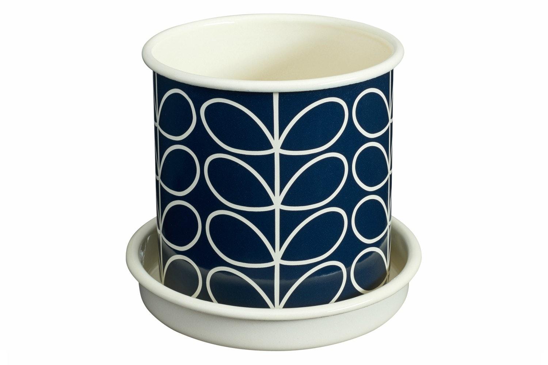 Orla Kiely  - Linear Stem Plant Pot