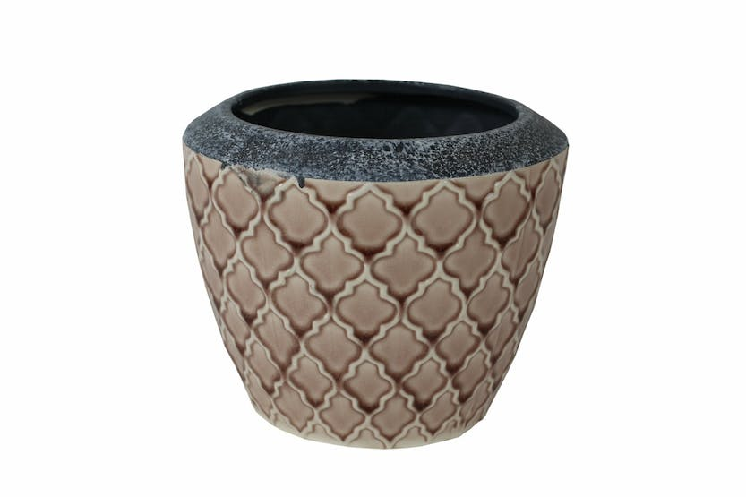 Glazed Trento Pot | Pink