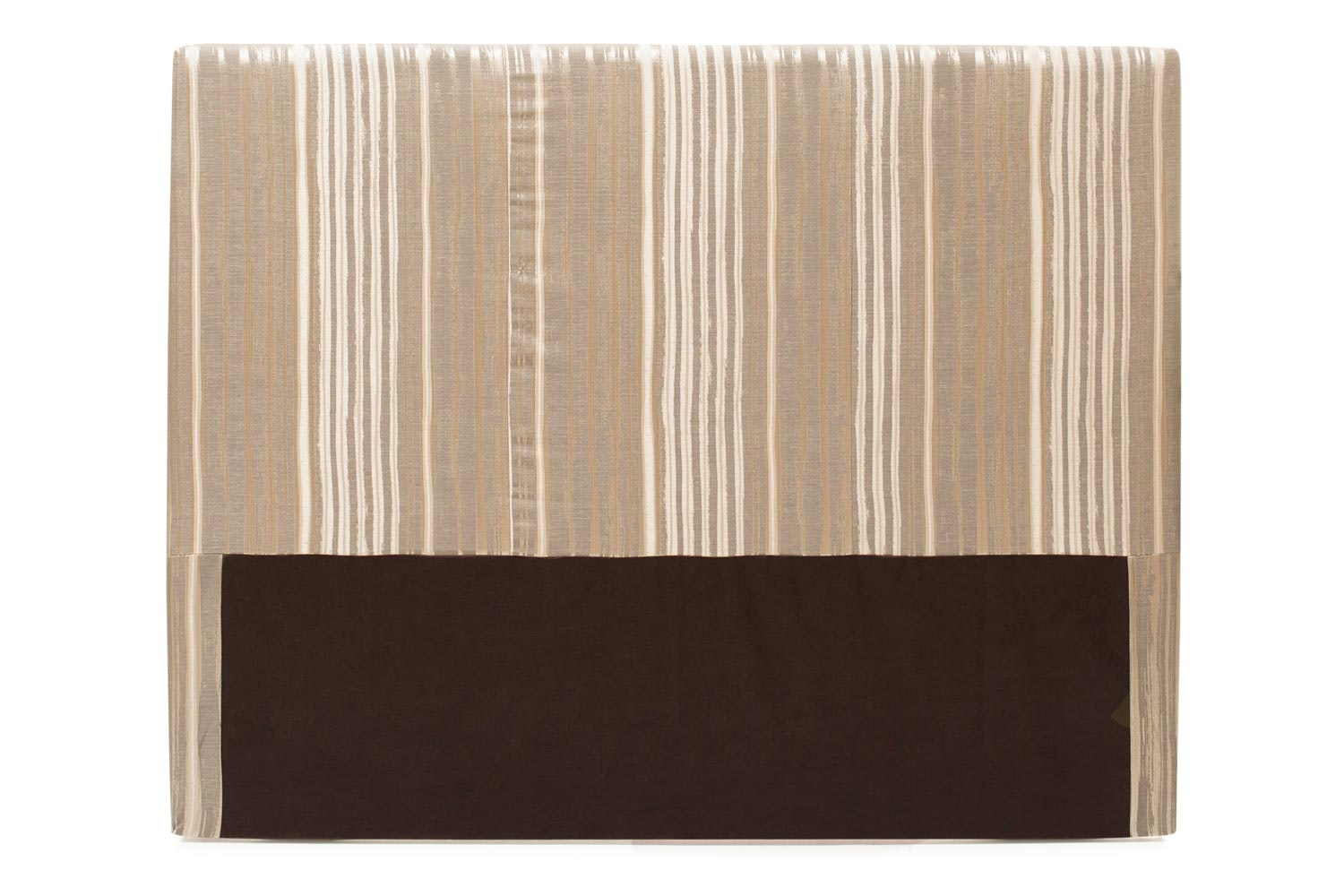 Abbey Headboard Cover |5Ft |Cotton Stripe Natural