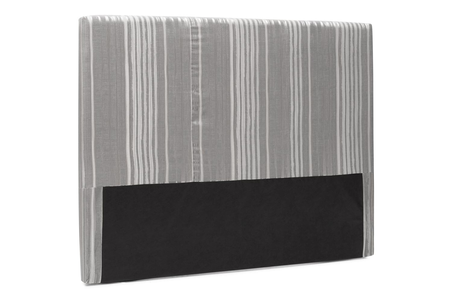Abbey Headboard Cover |6Ft |Cotton Stripe Grey