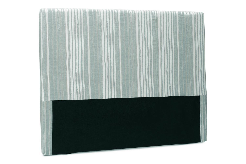 Abbey Headboard Cover |6Ft |Cotton Stripe Duck Egg