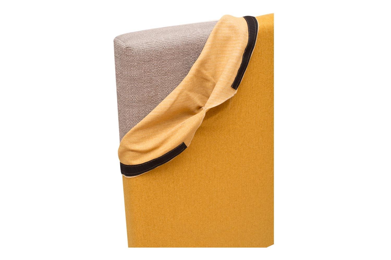 Abbey Headboard Cover |6Ft |Tweed Mustard