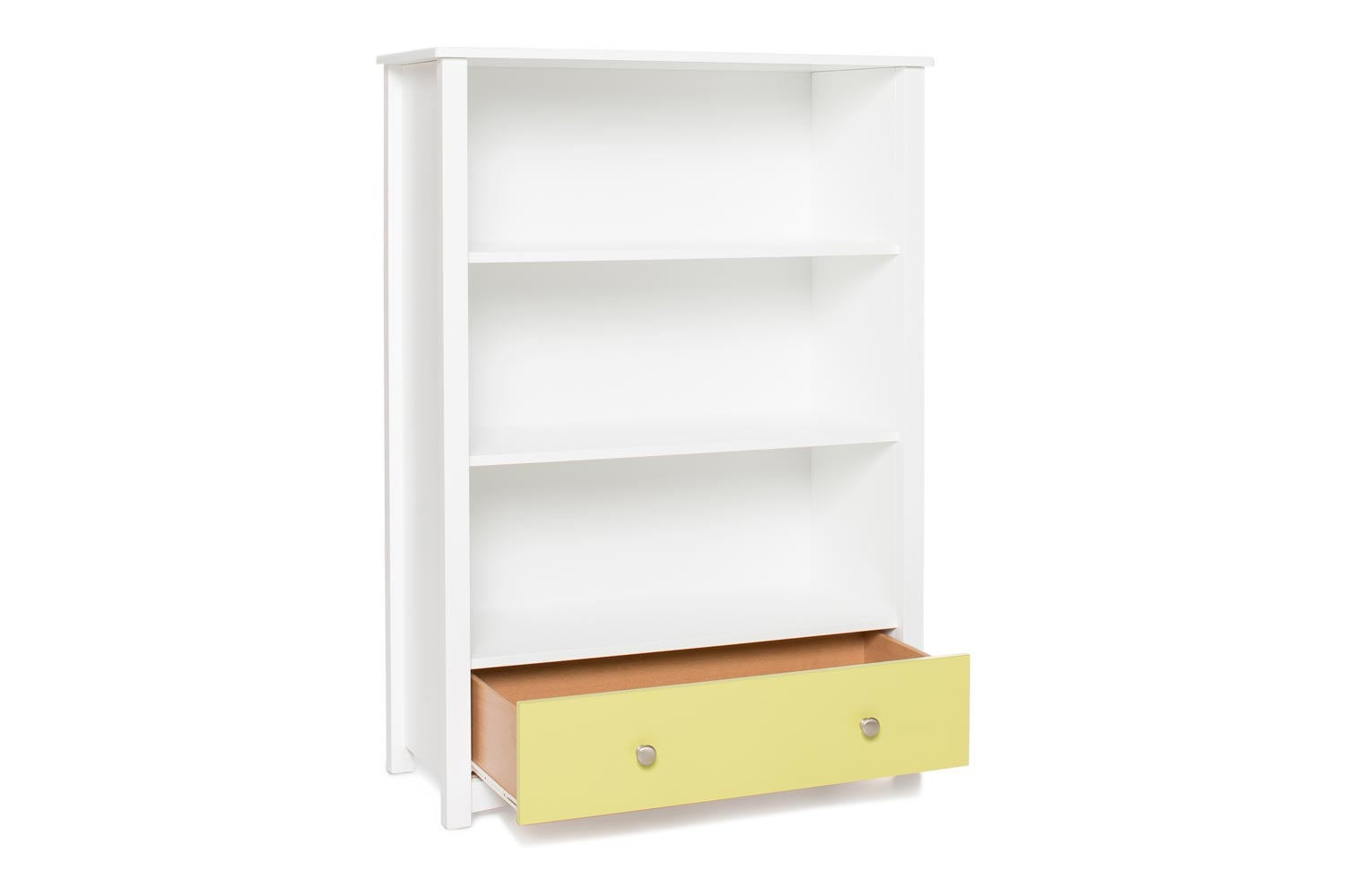 Urban Bookcase 1 Drawer | Medium | White & Green