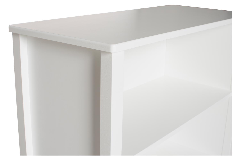 Urban Bookcase 1 Drawer | Medium | White & Cream