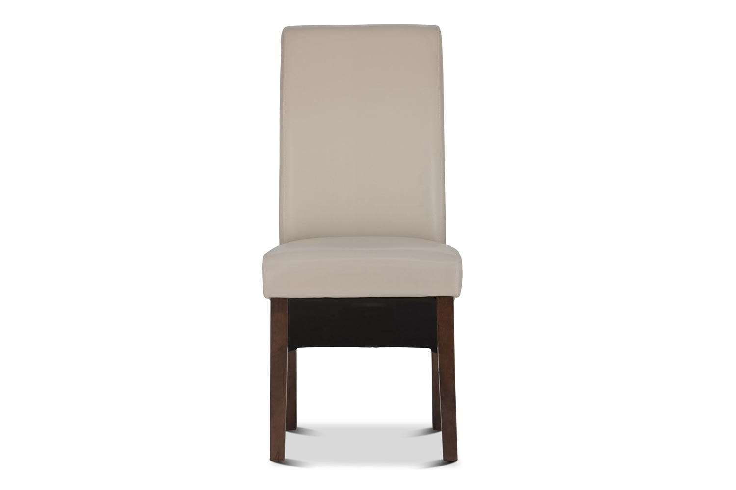 Wilton Dining Chair with Dark Leg | Ivory