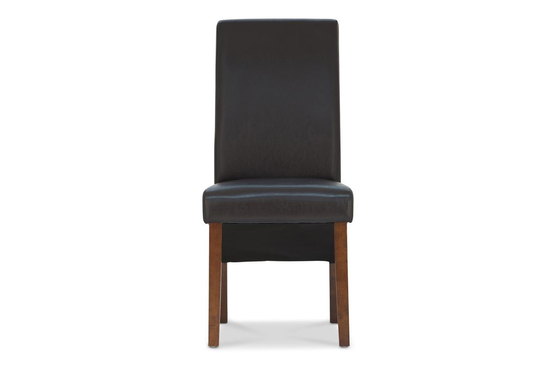 Wilton Dining Chair with Dark Leg | Black