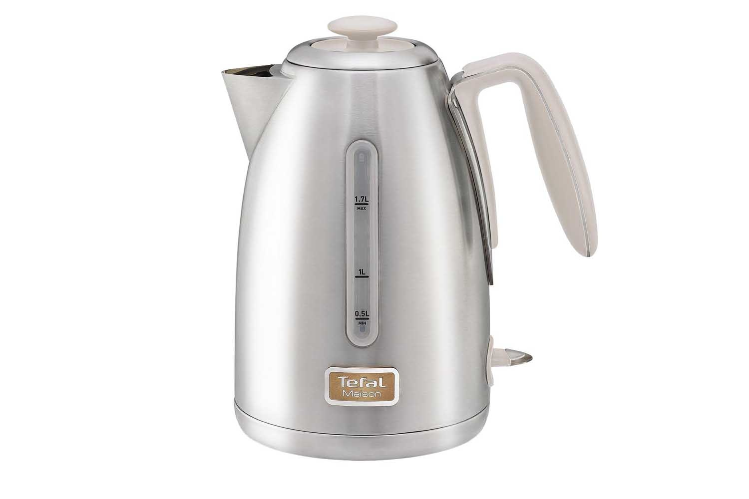 Tefal Brushed Kettle Stainless Steel| KI260AUK