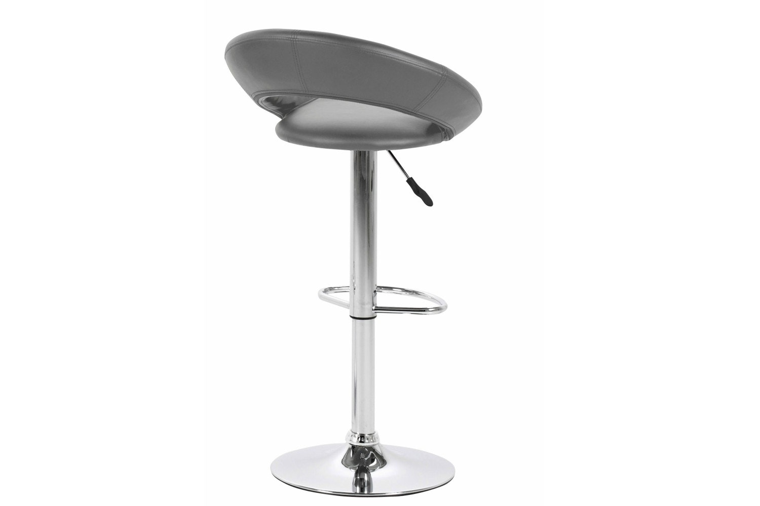 Plump Bar Stool | Grey