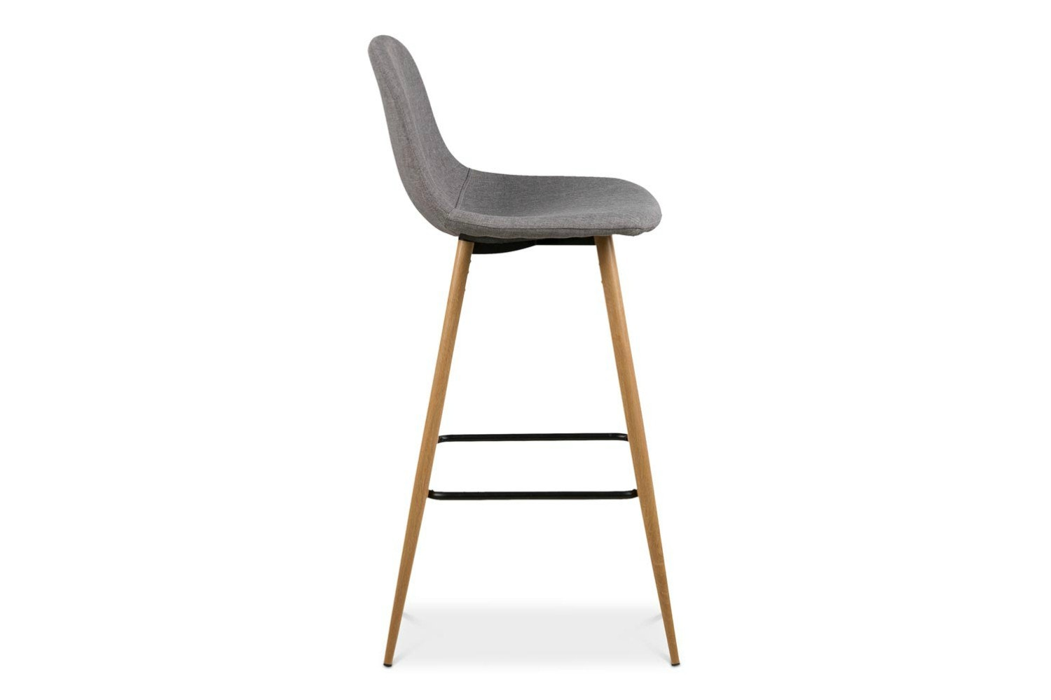 Wilma Bar Stool | Grey
