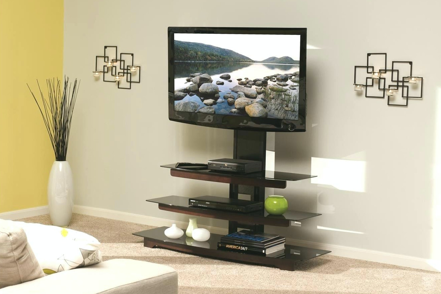 Sanus Audio Video Stand | BFAV550-CH1