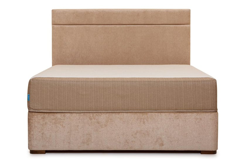 Duval Bed | Horizontal Stitch | Mink | 5ft