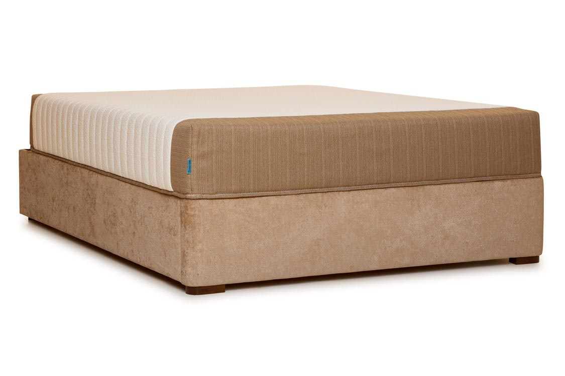 Duval Bed | Horizontal Stitch | Mink | 6ft