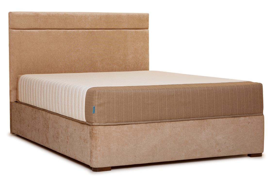 Duval Bed | Horizontal Stitch | Mink | 4ft6