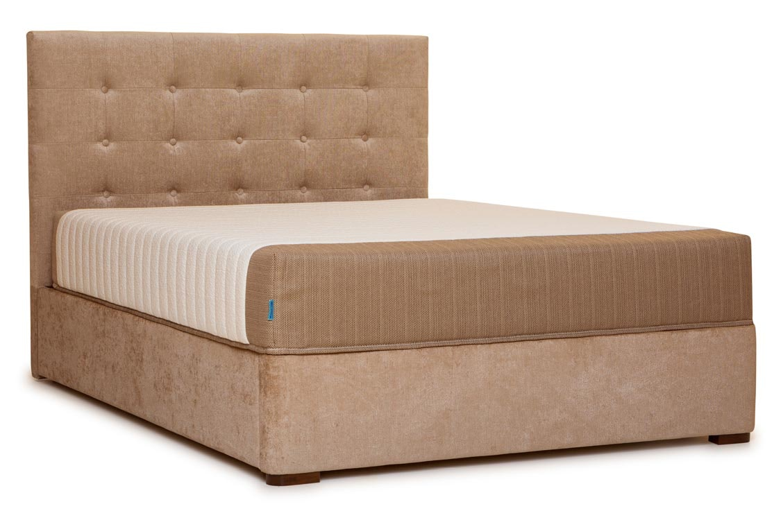 Duval Bed | Tufted Button | Mink | 6ft