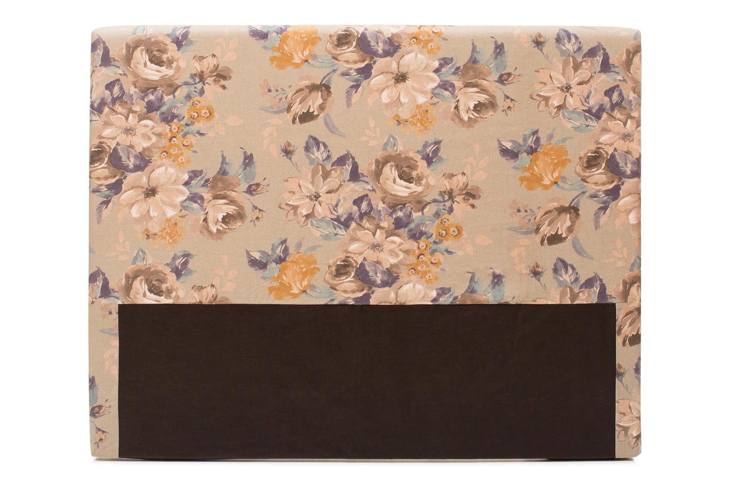 Abbey Headboard Cover |5Ft |Cotton Rosie Blue