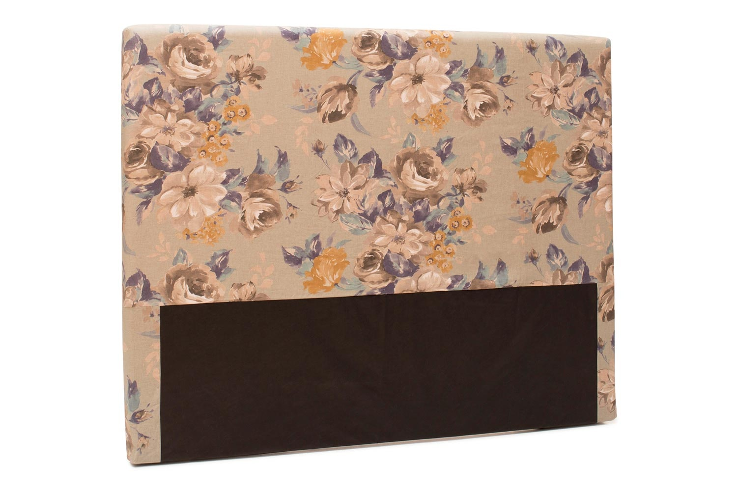 Abbey Headboard Cover |4Ft6 |Cotton Rosie Blue