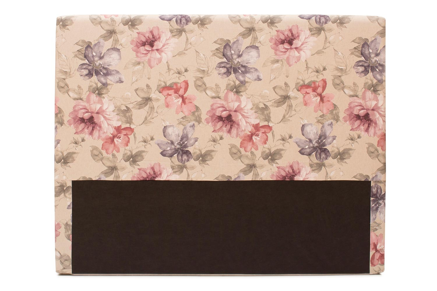 Abbey Headboard Cover |4Ft6 |Cotton Cara Blush
