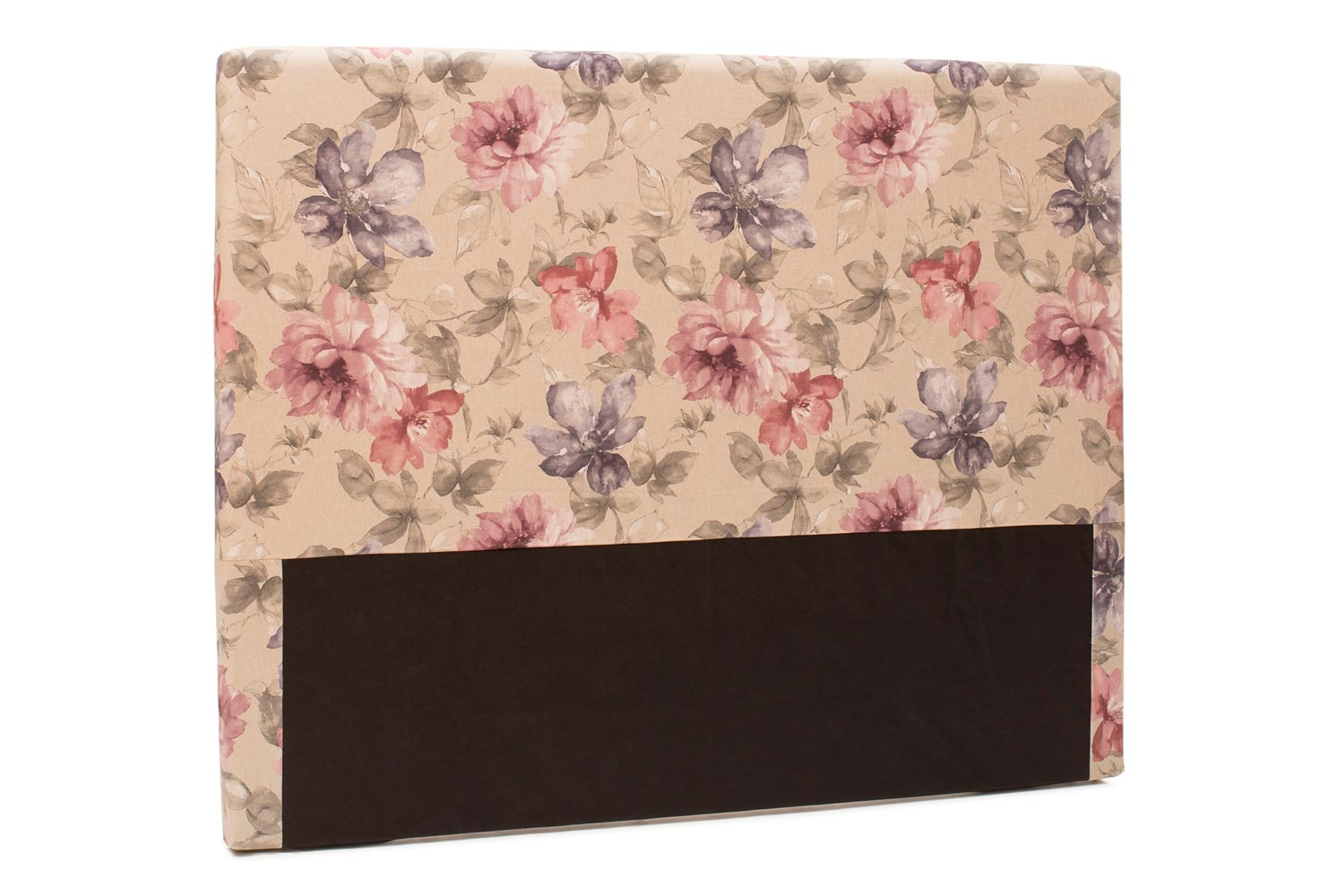 Abbey Headboard Cover |5Ft |Cotton Cara Blush