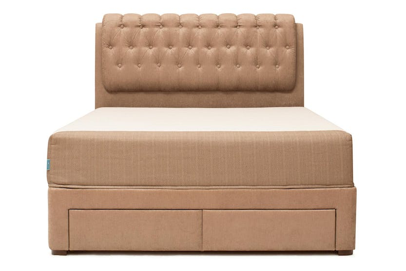 Duval Bed | Regency with Storage | Mink | 6ft