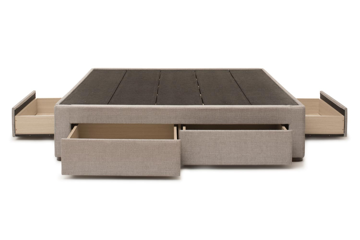 Duval Base with Storage | Grey | 5ft