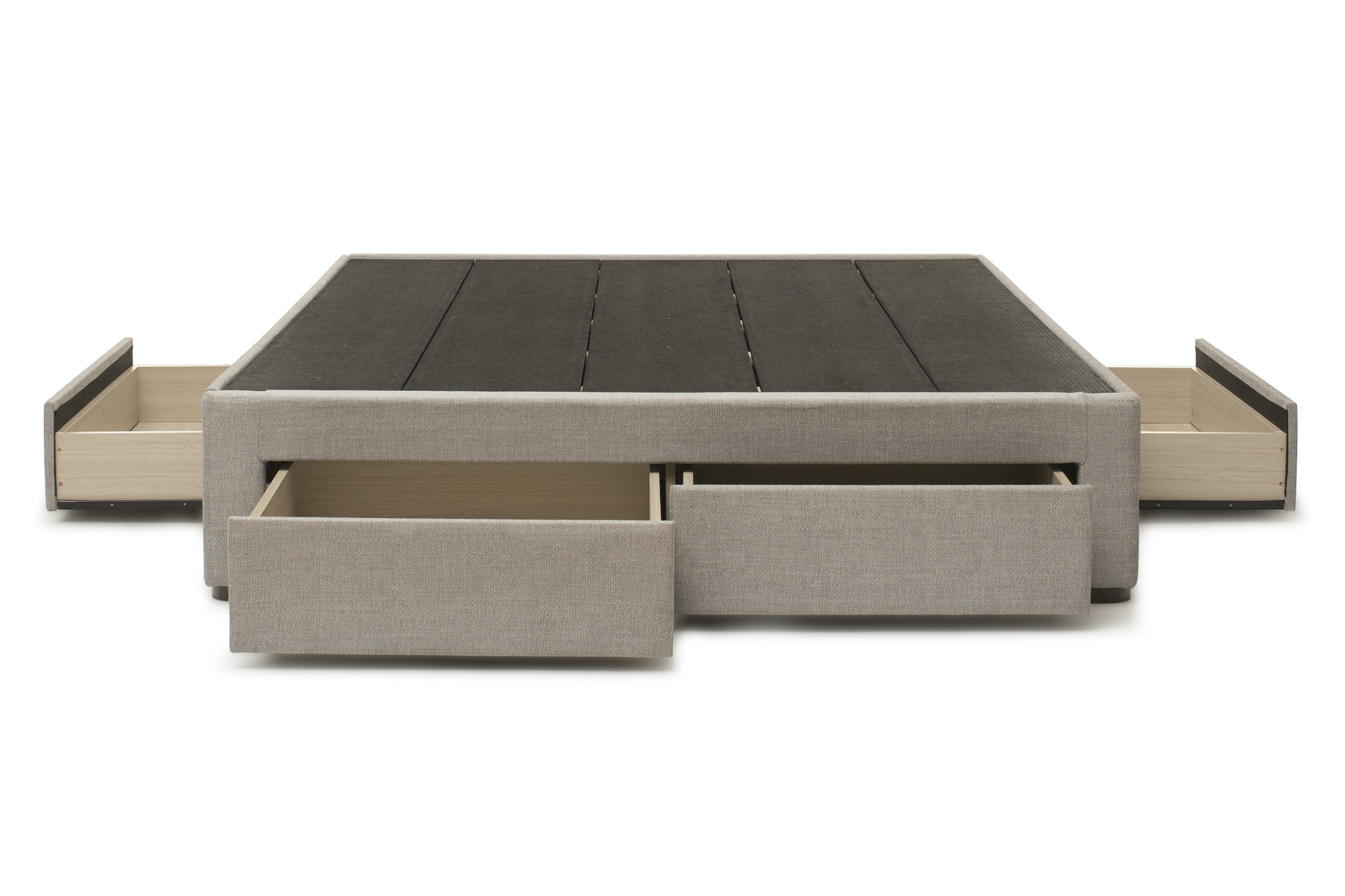 Duval Base with Storage | Grey | 6ft
