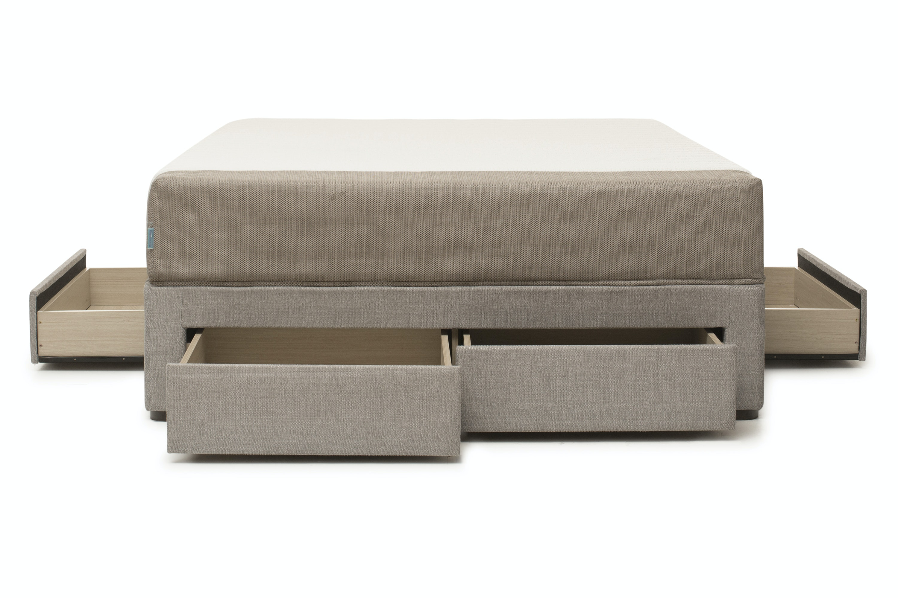 Duval Base with Storage | Grey | 4ft6