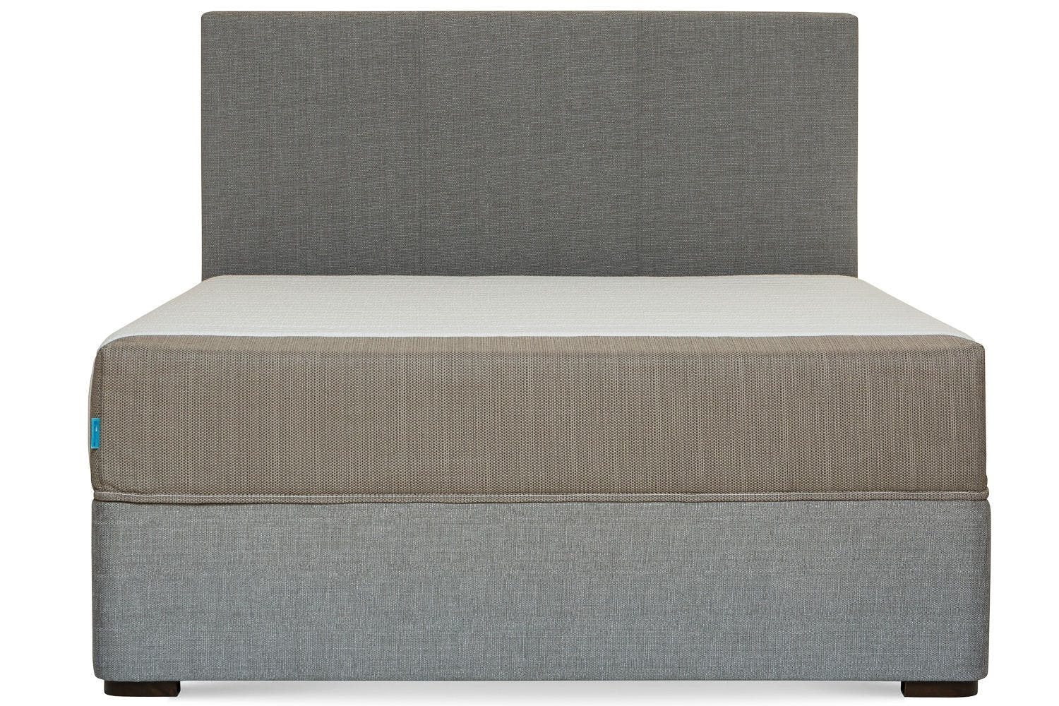 Duval Bed | Vertical Stitch | Grey | 5ft