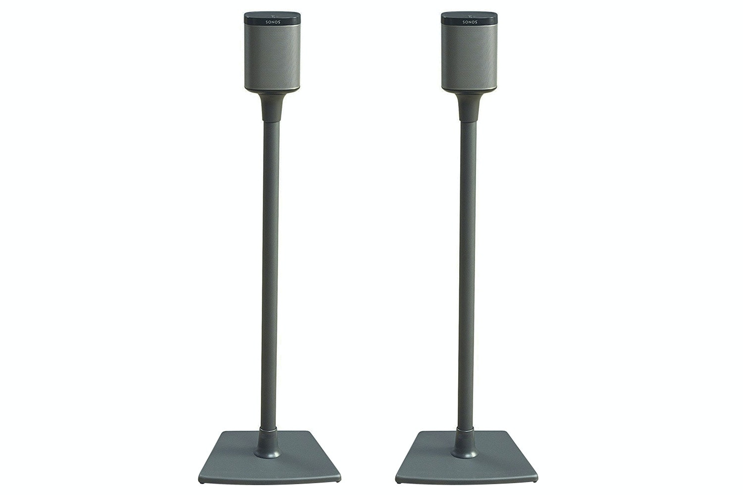 Sanus Wireless Series Speaker Stands for Sonos PLAY 1 & PLAY 3 Black | WSS2-B1