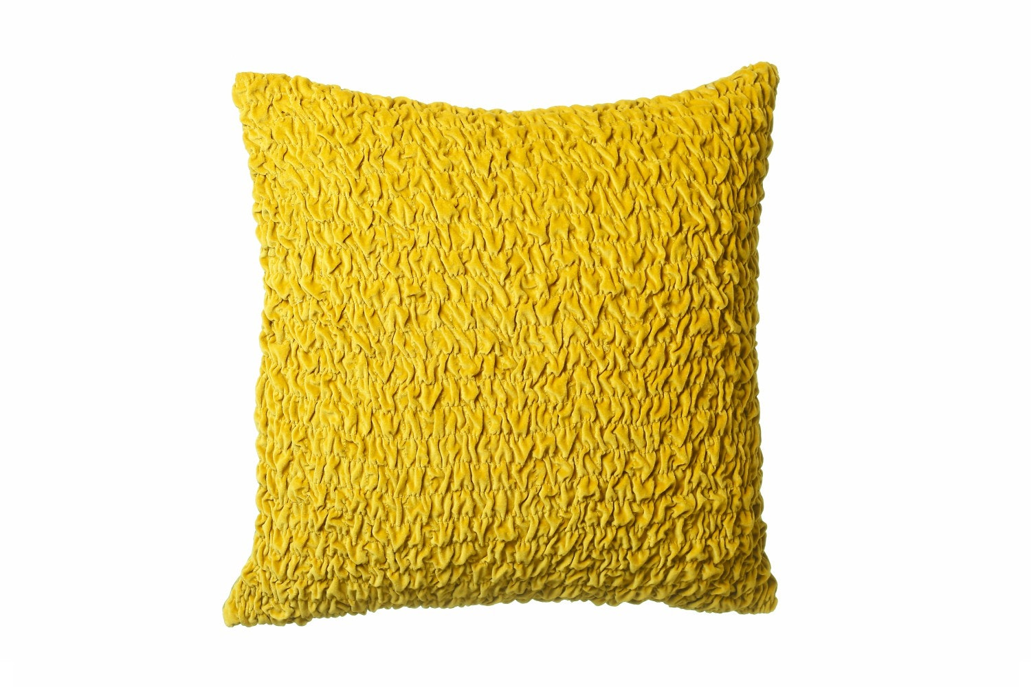 Scatterbox Orche Ruched Cotton Velvet Cushion