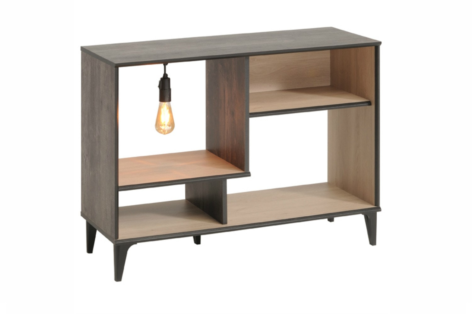 Edison Bookcase Open Storage | Medium