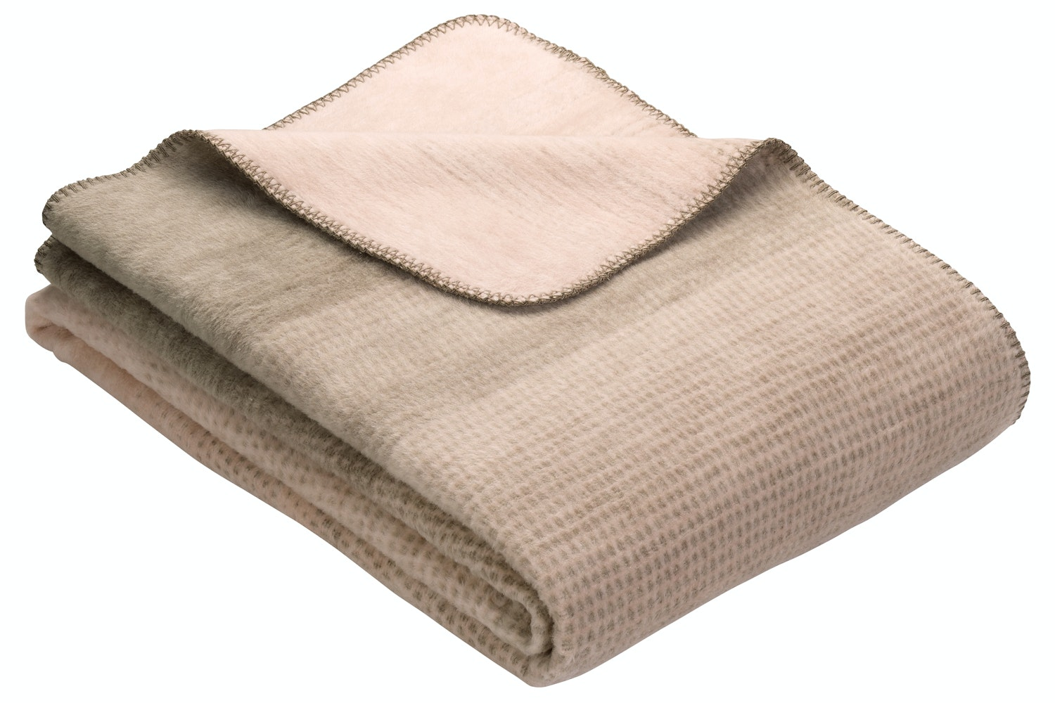Egersund Throw In Brown And Rose