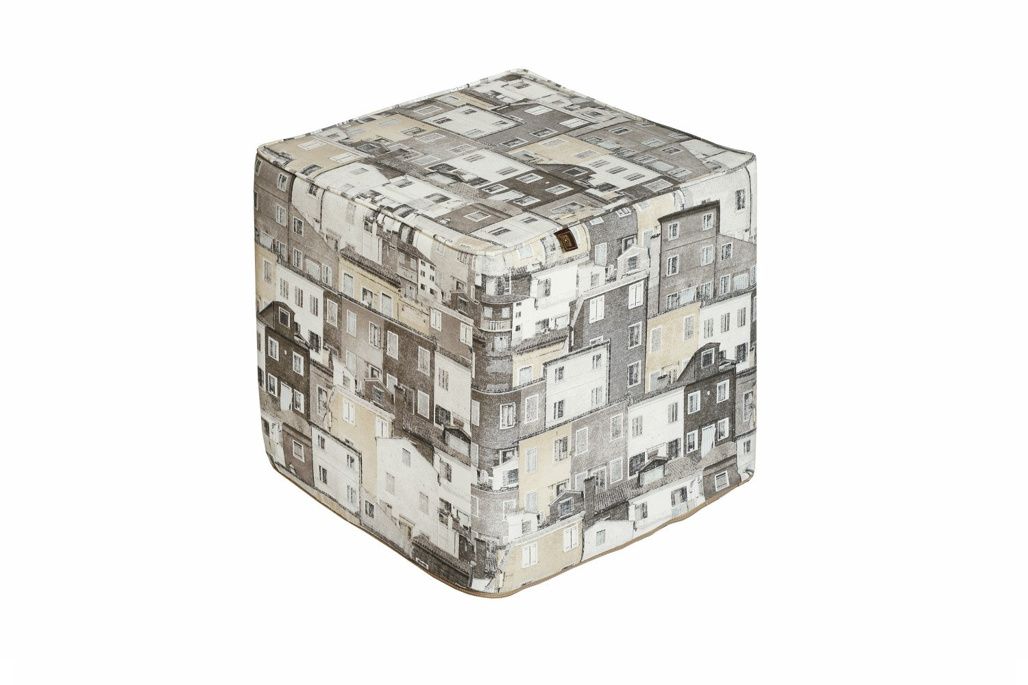 Scatterbox Townhouse Natural Pouf