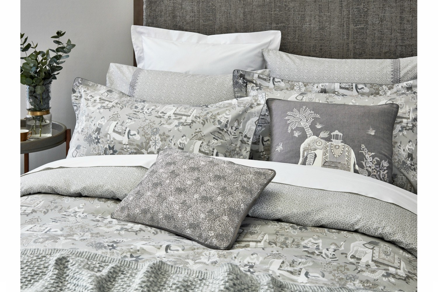 Journey Duvet Cover | King | Grey