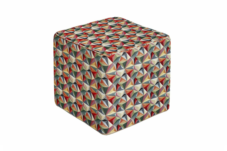 Kaleidoscope Pouf