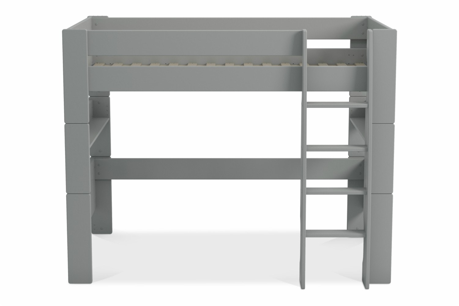 Popsicle High Sleeper Bed Frame | Grey
