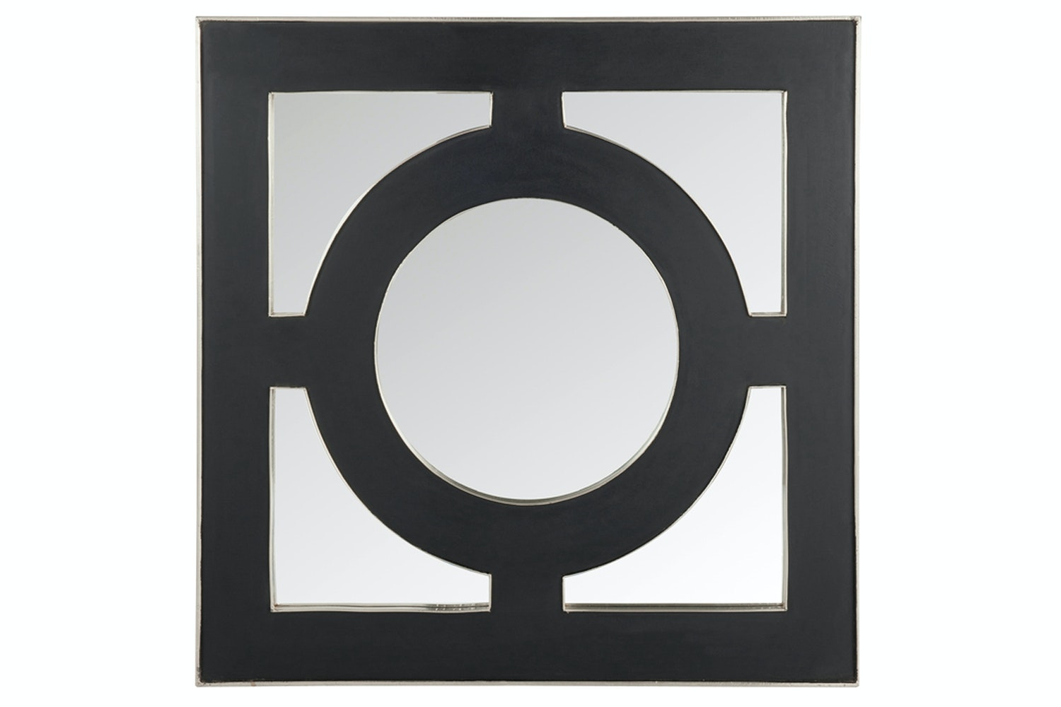 Square Mirror With Black Frame