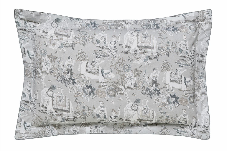 Journey Oxford Pillowcase | Grey