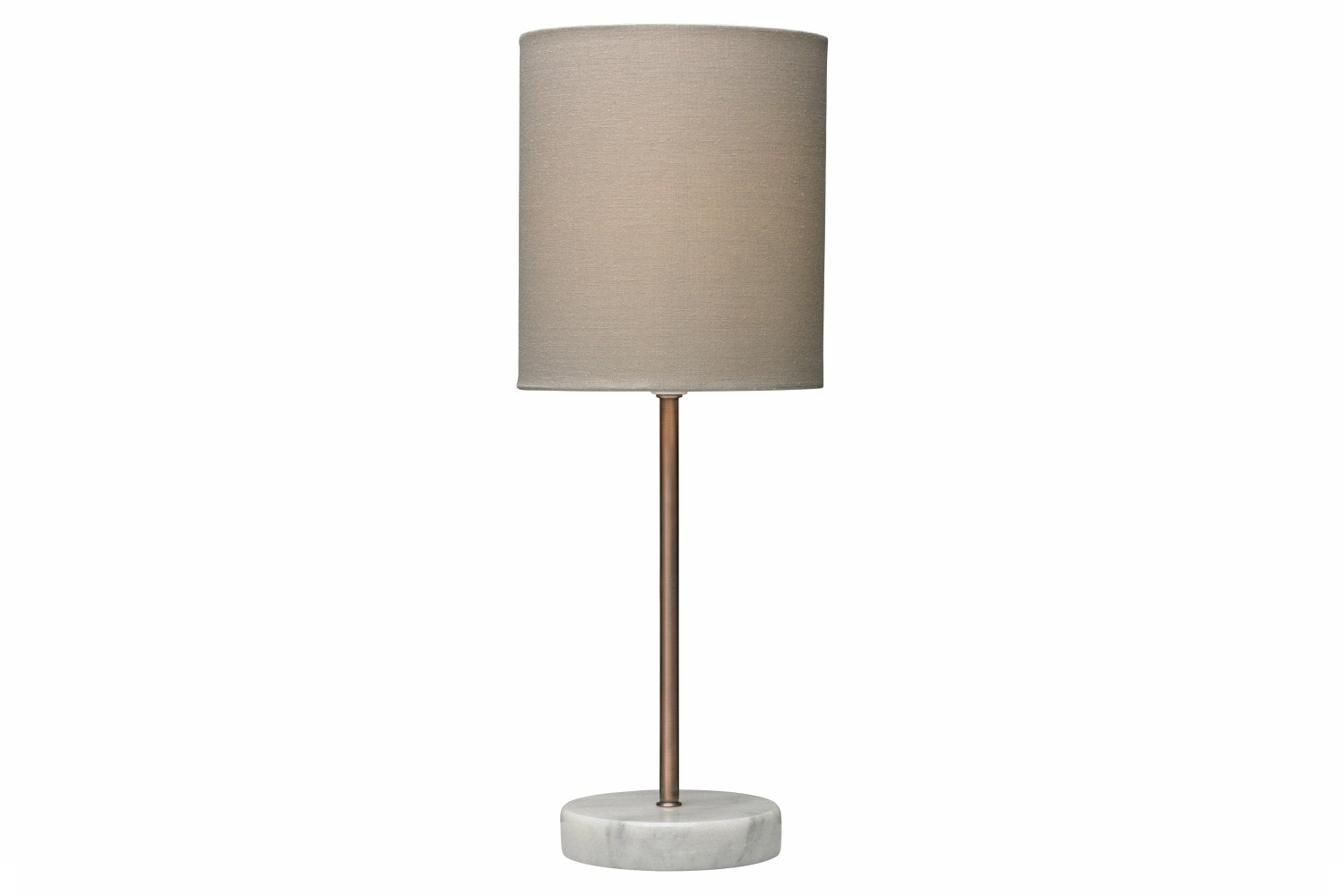 Bianco Table Lamp Brushed Copper Biscuit