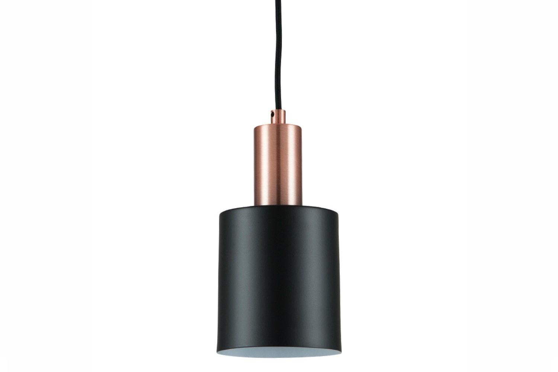 Black & Antique Copper Single Pendant