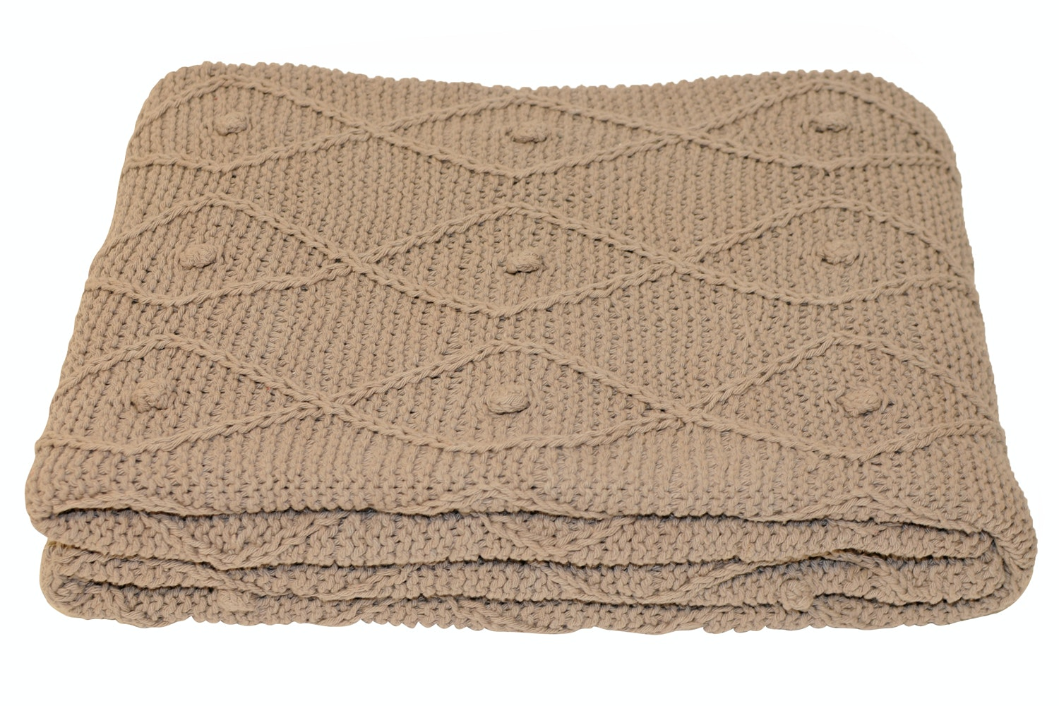 Argyll Throw Taupe