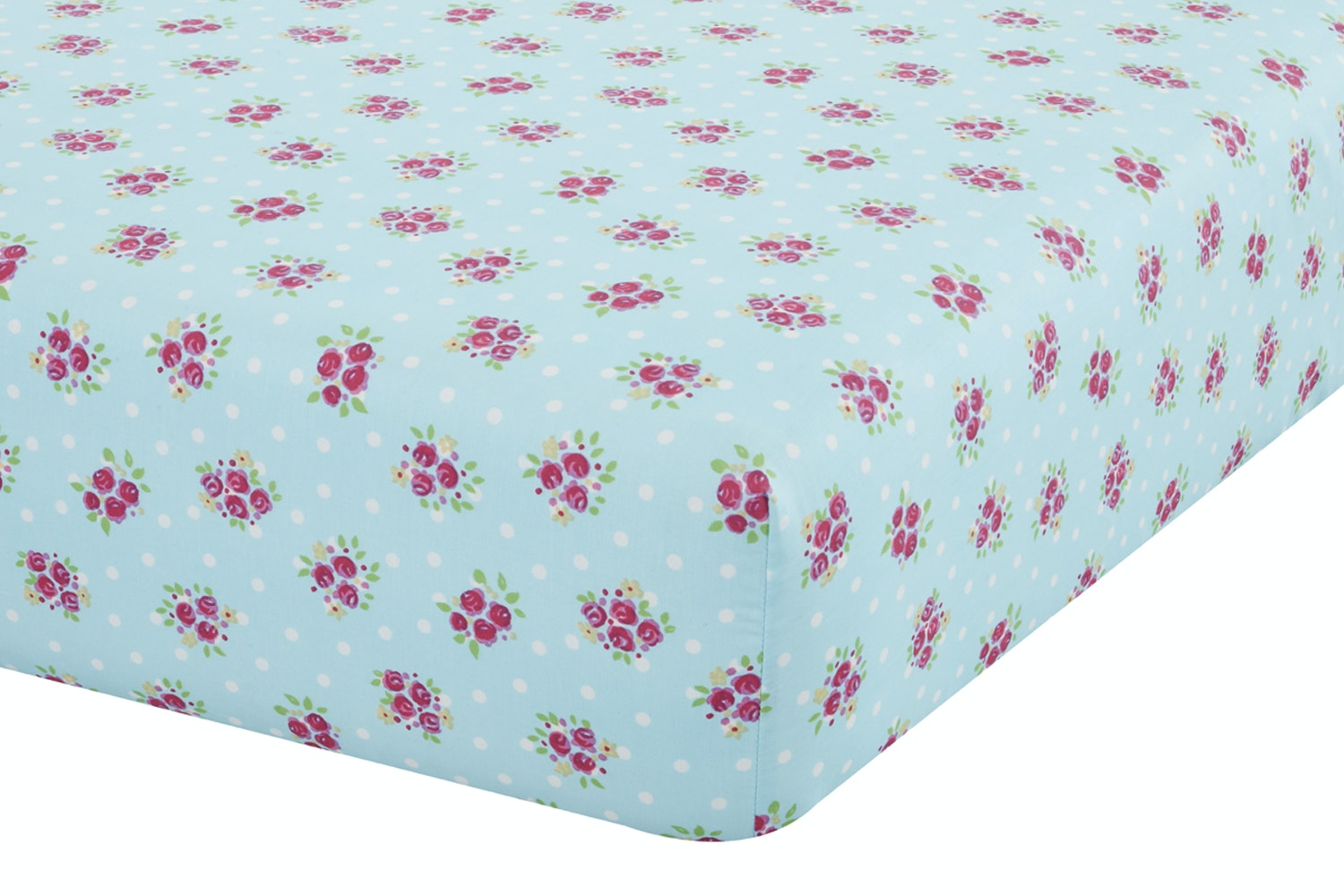 Fairies Pink Fitted Sheet | Single