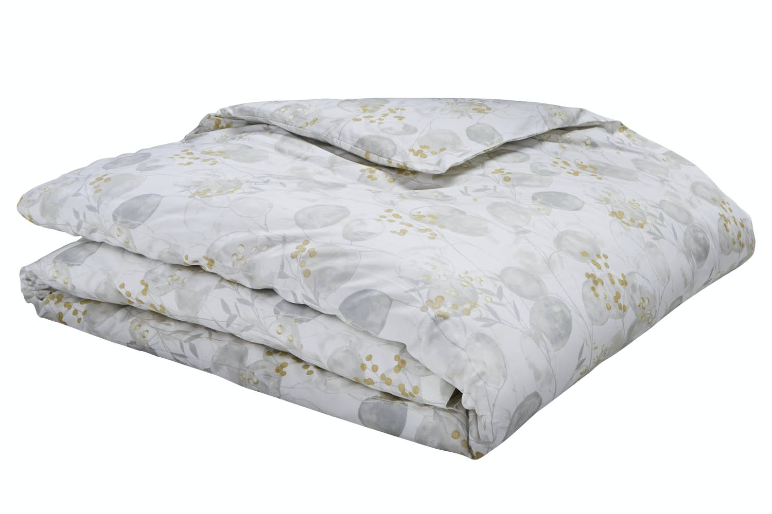 Honesty Cotton Print Neutral King Duvet Set