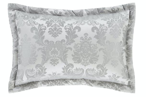 Damask Jaquard Pillowsham | Silver
